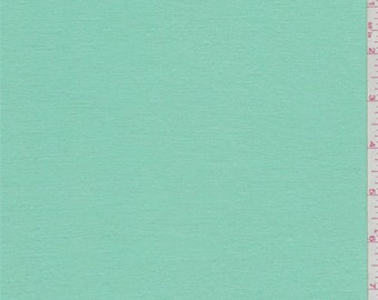 Bright Mint Green Bamboo Jersey Knit, Fabric By The Yard