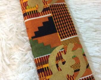 African Patterned Case (Sunglasses, Glasses, Pencil, Makeup etc...)