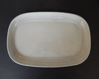 Russel Wright Vintage Steubenville Granite Gray Serving Plate Platter