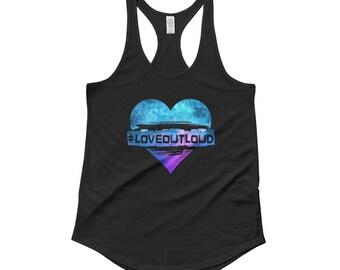 Women's Love Out Loud Tank Top
