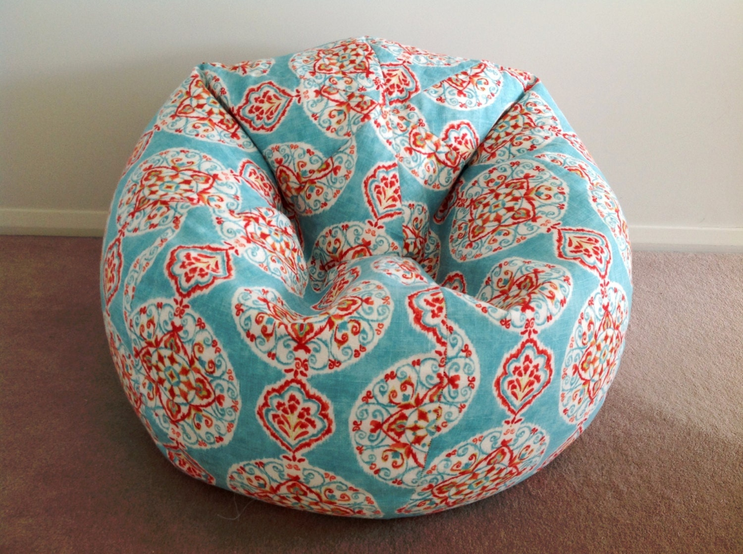Bean Bag Linen Designer Mirage Boho Kids Cover Adults