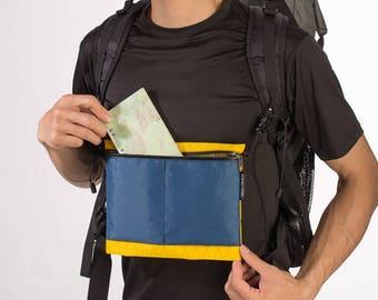 SURFACE Chest/Shoulder Bag- Black- Yellow Blue