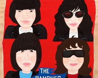 The Ramones - Painting