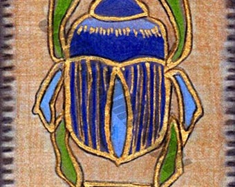 Digital Download Egyptian Scarab