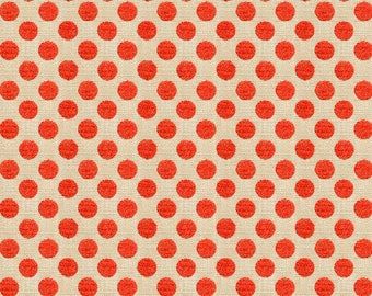 KRAVET LEE JOFA Kate Spade Dots Fabric 10 Yards Hot Coral