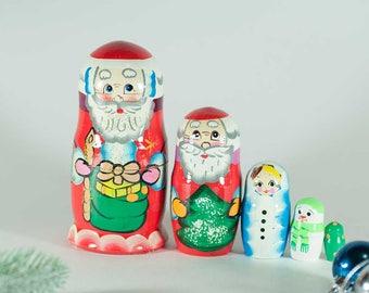 Matryoshka Father Frost Russian Nesting Doll