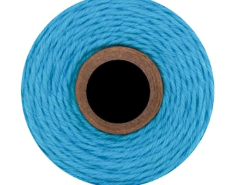 Blue Solid Divine Twine (240 yards) Solid Blue