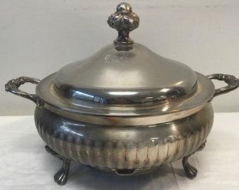 English Silver MFG Corp Electric Soup Pot