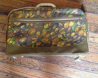 Vintage Hemenway Suitcase Luggage
