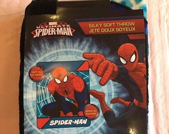 Spider man 40*50 inch Thin Blanket plush throw