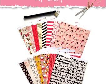 Cardstock 6x6, Scrapbooking Paper, Craft Paper, Card Making, Scrapbooking Paper Pack