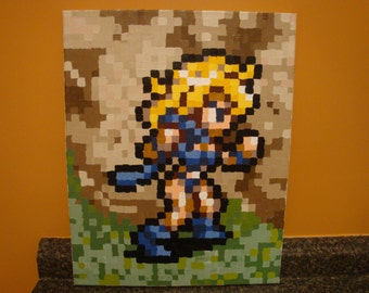 Chrono Trigger - made to order - ANY character (SNES) Pixel Painting 16x20