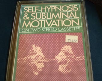 Self-Hypnosis & Subliminal Motivation for Stress/Anxiety on Cassette Tapes
