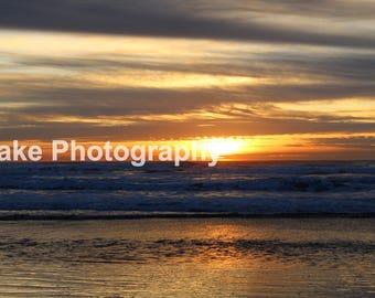 Ocean Beach Sunset Print