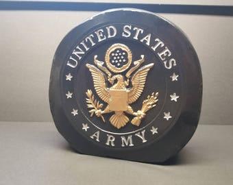 Army Stand Alone Decorative Stone