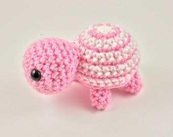 Pink White Baby Turtle
