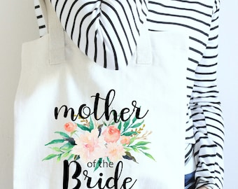 Mother of the Bride Tote, tote mother of bride, mother wedding tote, tote mother bride, mother bride tote, mother of bride gift, tote gift