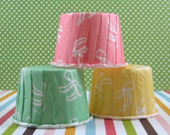 Small Ribbon Ribbon Muffin Cups Set