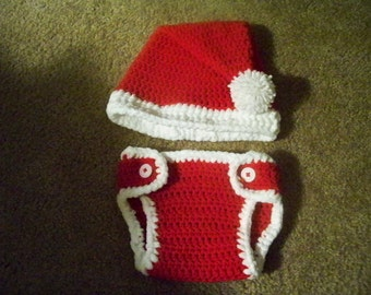 Crocheted Santa Set