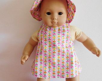 15 inch doll 3 Piece Sunsuit