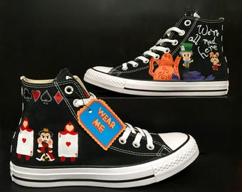 Alice In Wonderland Converse