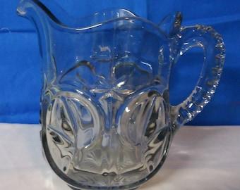 050418 02 Pressed Glass Pitcher