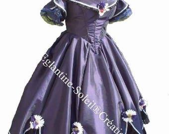 "Victorian bride ""CZARINA"" atypical custom dress"