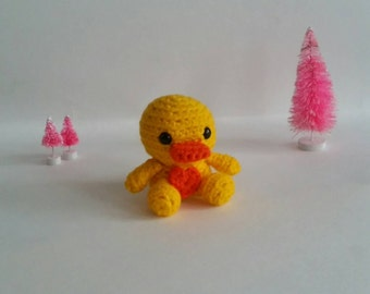 Mini Crochet Duck