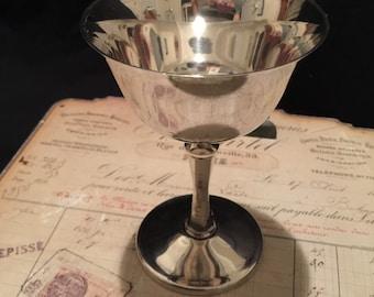 Antique Delbert Italy Silver Chalice