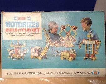 Vintage Ideal Toys Build n' Play Set