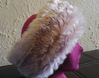 Faux fur Fingerless Hot Paws with Matching Neck Warmer
