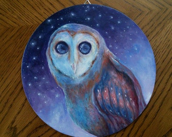 Night Owl (oil painting)