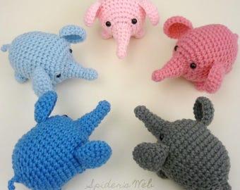 Elephant Plush Toy | 4 Inches | Handmade Crocheted
