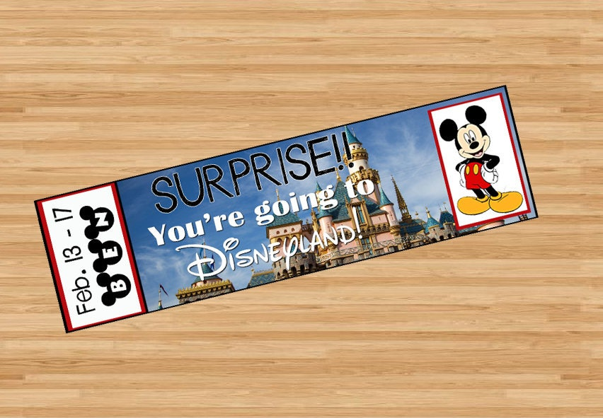 This is a photo of Hilaire Free Printable Pretend Disney Tickets
