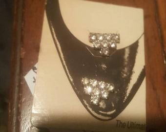 on sale Vintage The Ultimate Shoe Clips - Women Rhinestone Bridal Shoe Clips