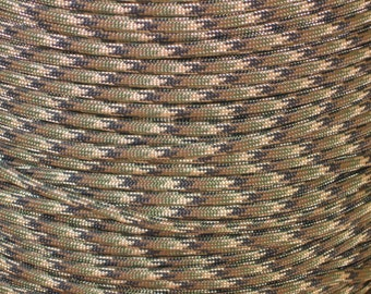 100 ft hank of Ground War 550 Paracord by Atwood Rope