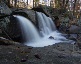 Trap Falls, Willard Brook State Forest, Ashby, Massachusetts