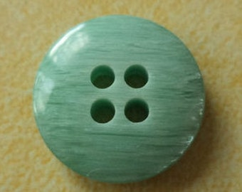 18 turquoise buttons 15mm (2772) button