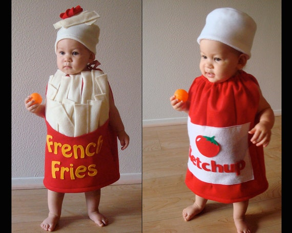 sc 1 st  Etsy & Baby Costumes Twin Costume Halloween Costumes Fast Food