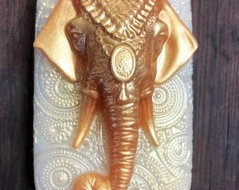 Elephant Soap, Ganesh Soap, Ganesha, Indian elephant Soap, Vegan Soap, Bar Soap, Soap for him, Soap for her, Ganapati, Vinayaka, Binayak