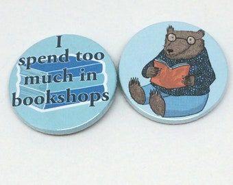 Book Lovers Badges