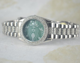 STARBUCKS Upcycled Watch Band Timeless - Starbucks Blingy Band Bracelet