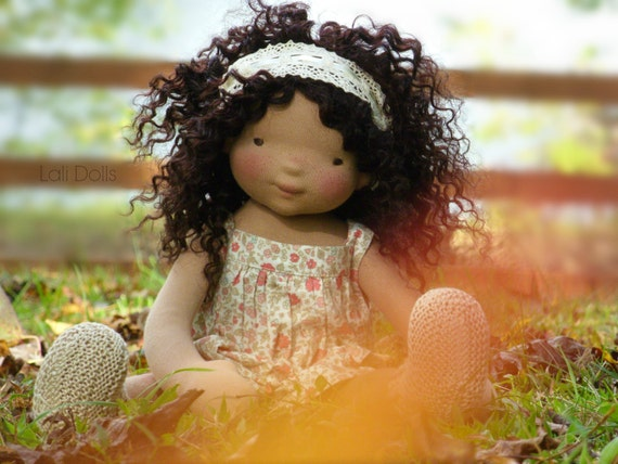 Wild Flower Doll Kit and PDF Pattern