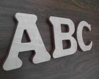 26 Wooden English alphabet letters, ABC, Educational gift, Toy, DIY project, Wooden letters, English letters, Handmade alphabet, Education