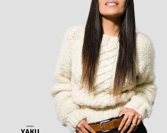OFF SALE women cable knit sweater  alpaca sweaters for women  chunky sweater women  Sweater  Cable Sweater Alpaca  oversized womens clothing