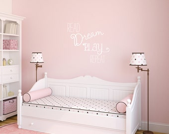 Read Dream Wall Decal, Kids Gift, Kids Wall Decals, Quote Wall Decal, Kids Room Decor, Kids Wall Decor, Gift for Kids