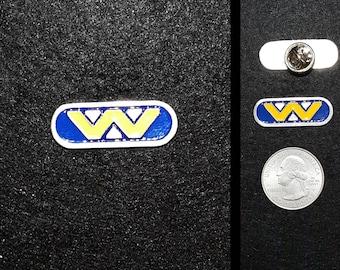 Hand Cast Weyland Yutani Lapel Pin or Magnet