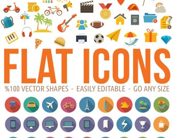 Tonicons - 2000 Icons / Clipart Bundle
