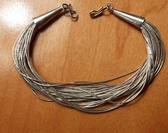 Liquid Sterling Silver Bracelet 29 Strands