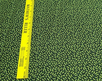 New Colonies-Green and Yellow Cotton Fabric from Windham Fabrics